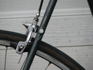 rear brake bridge
