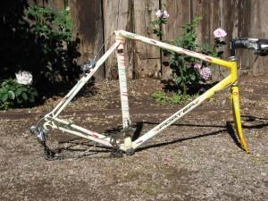 Aero TT frame