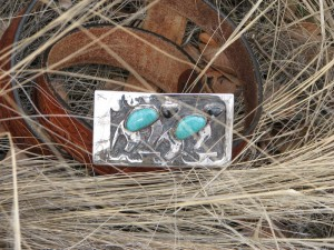 Turtles emerging from the underworld Stabilized Kingman turquoise and white Buffalo stone on Sterling silver.